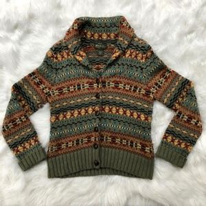 Eddie Bauer Cardigan Knit Sweater Size Small